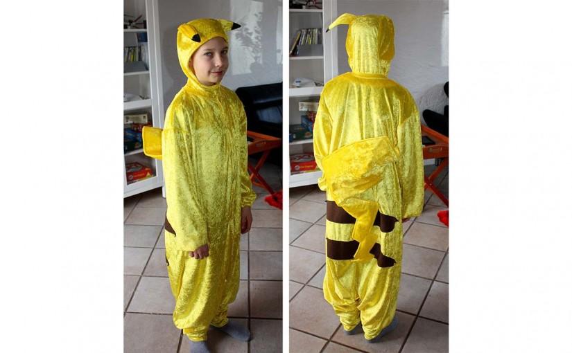 Carnival Costume For Pikachu Fans Faschingskostum Fur Pikachu