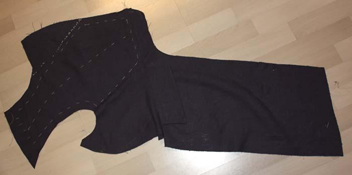 A 1840´s Linen Tailcoat Part 1 / Ein 1840er Leinen Tailcoat Teil 1 ...