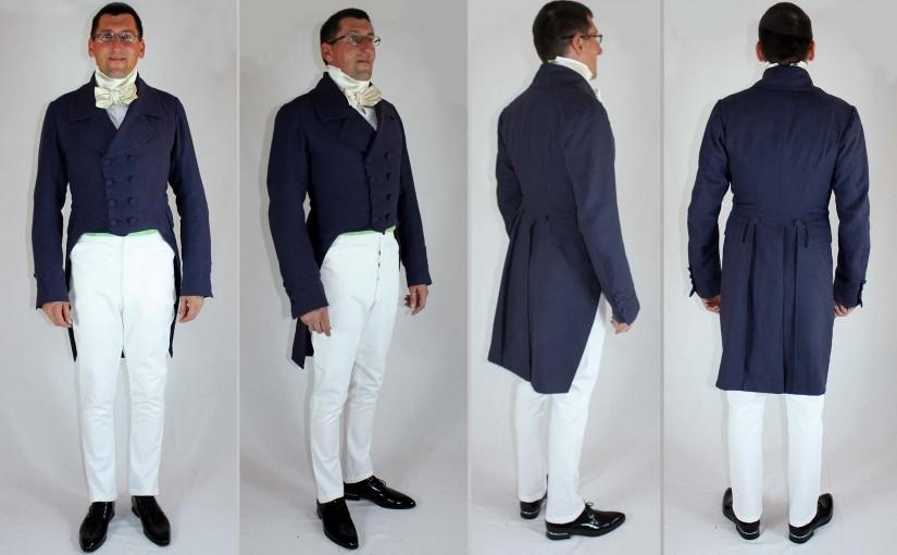 1830´s Tailcoat / Biedermeier Frack | BlackSnail-Blog