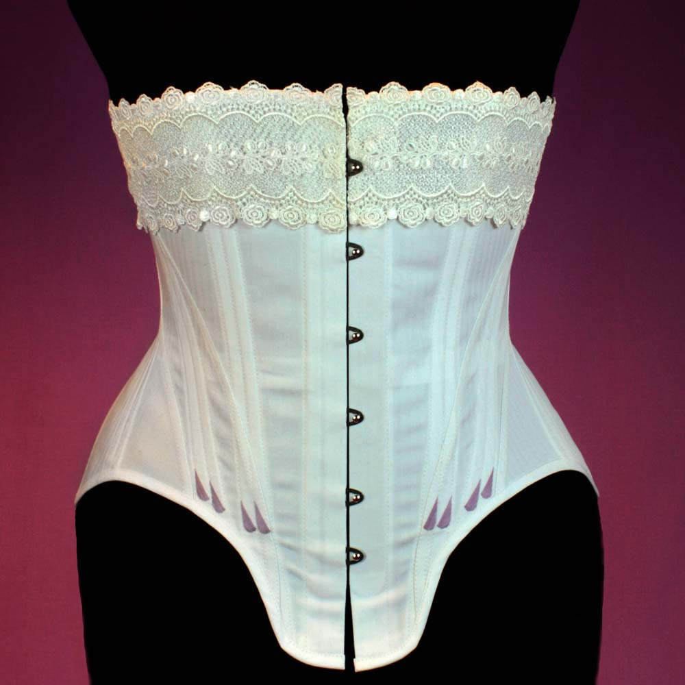 Edwardian Straigth Front Corset Sewing Pattern #1015 Size US 8-30 (EU 34-56) Pdf Download